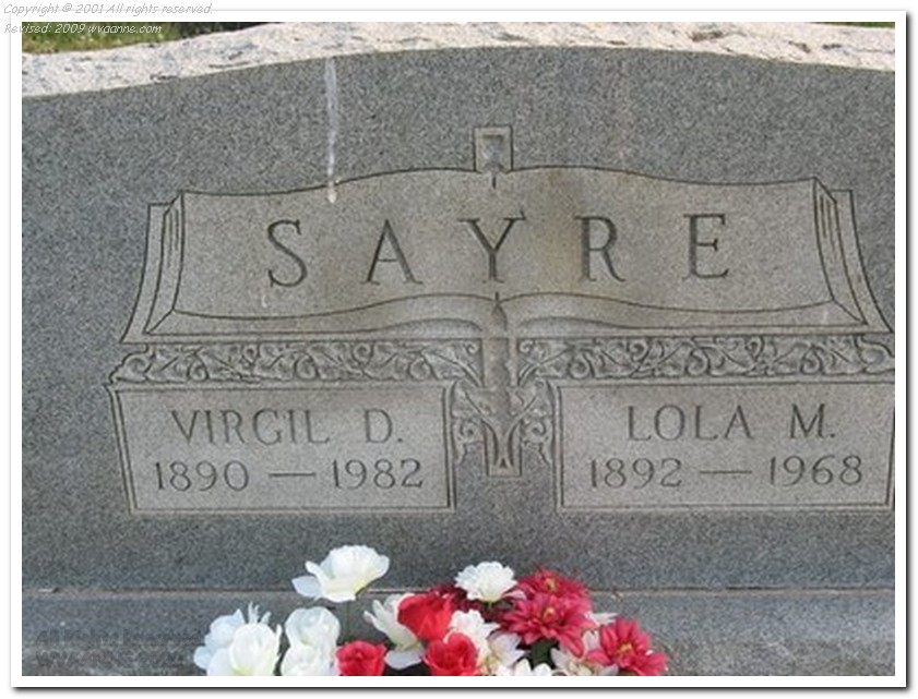 Fox-Sayre - Longview Cemetery